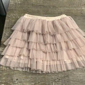 Zara tulle skirt